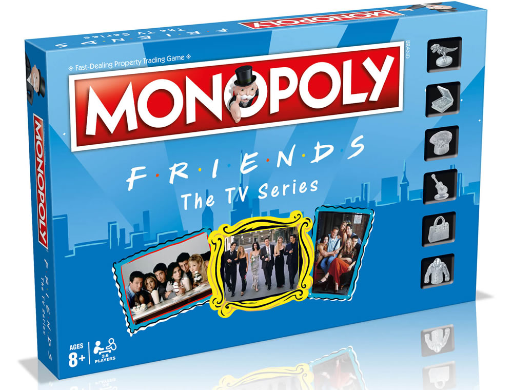 Monopoly Board Game - Friends Edition - Iwoot