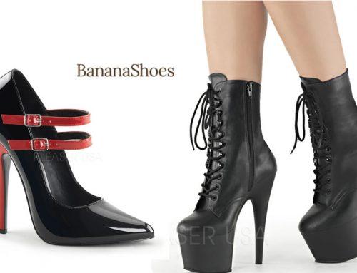 Banana Shoes – Sexy High Heels