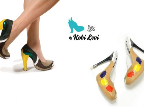 Kobi Levi Footwear Art