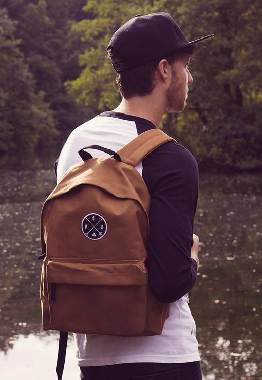 Arrow Bag Backpack - Art Disco